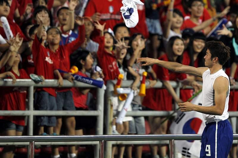FIFA suspende internacional sul-coreano por gesto político