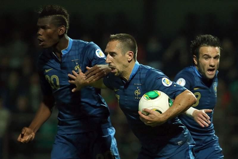 Ribéry pode falhar Mundial2014