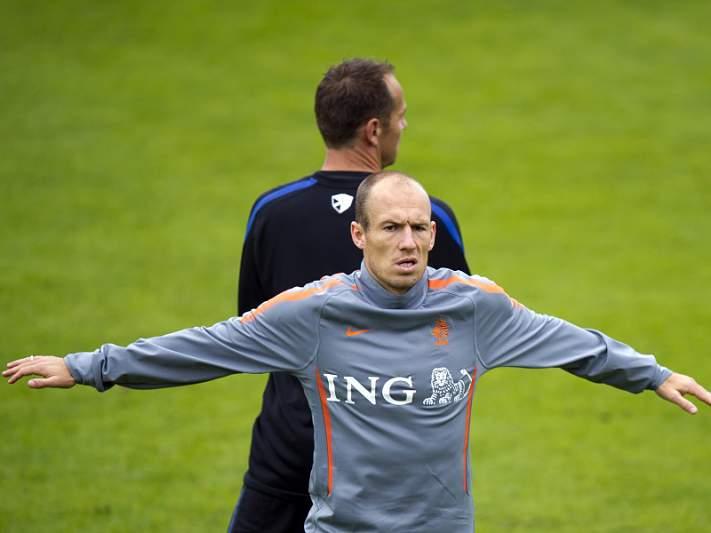 Robben outra vez lesionado