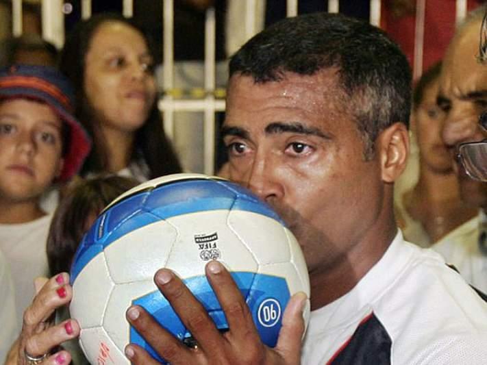 Romário ainda não reagiu à queixa que foi apresentada por Marin