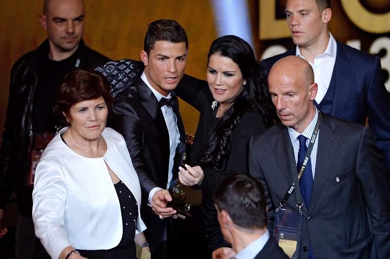 Três 'grandes' unidos no reconhecimento a Ronaldo
