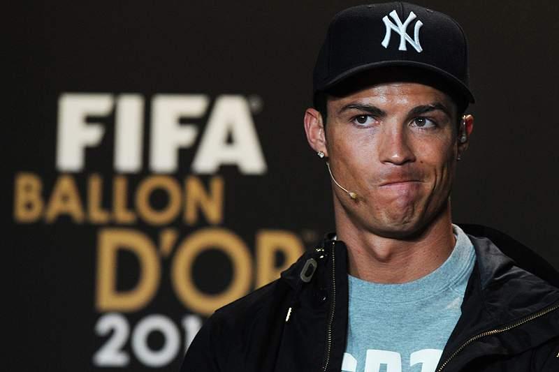 Cristiano Ronaldo foi segundo pela quarta vez