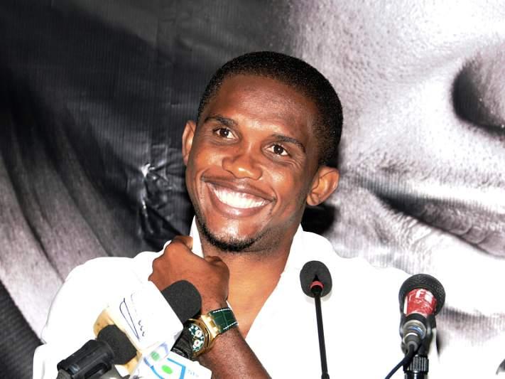 Samuel Eto'o abandona seleção dos Camarões