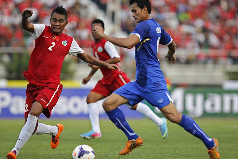 Timor-Leste perde 1-3 contra a Birmânia