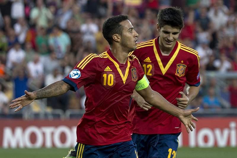 Rajoy felicita seleção espanhola de sub-21