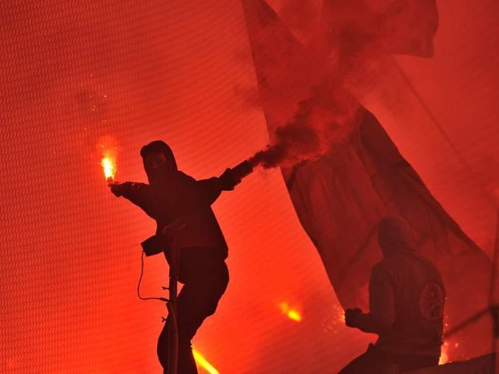 Adeptos detidos no dérbi condenados com penas suspensas