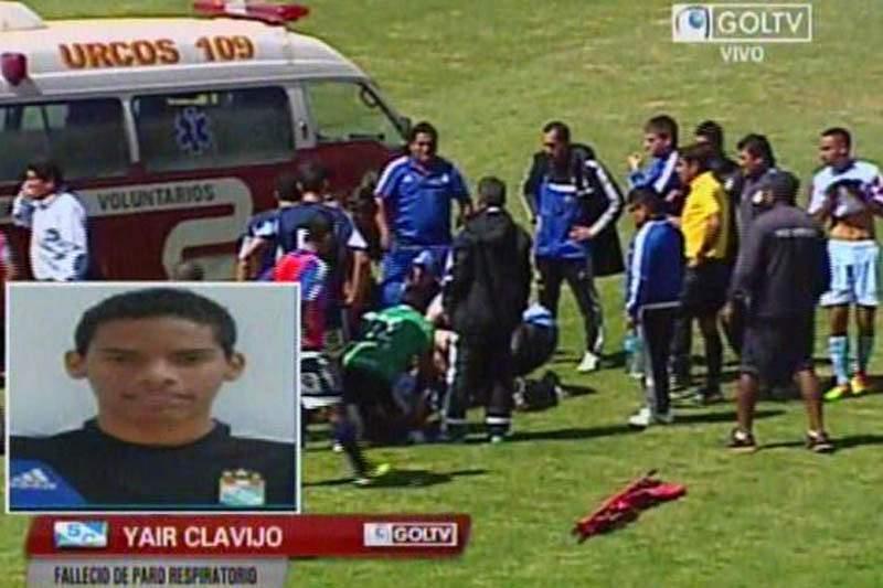 Jogador de 18 anos morre em pleno relvado