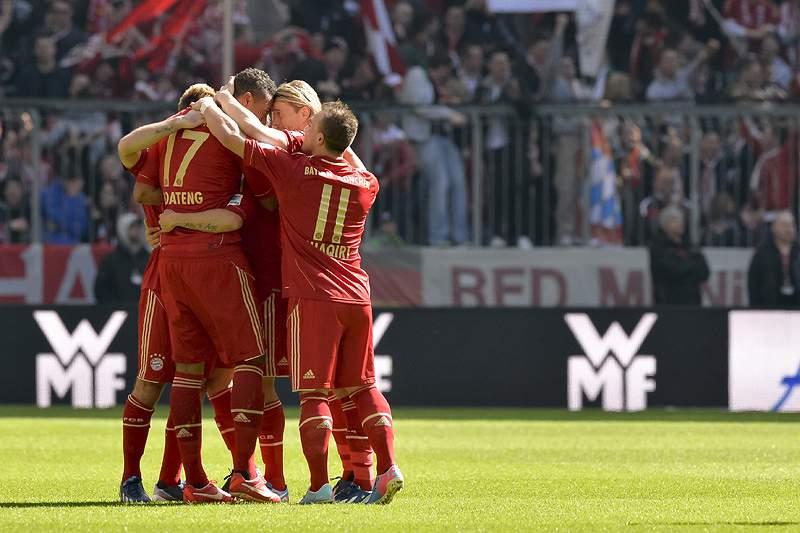 Bayern Munique, um 2013 quase perfeito