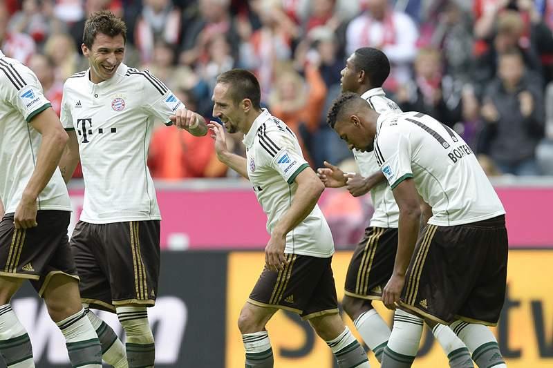 Bayern Munique com bom ensaio antes de iniciar