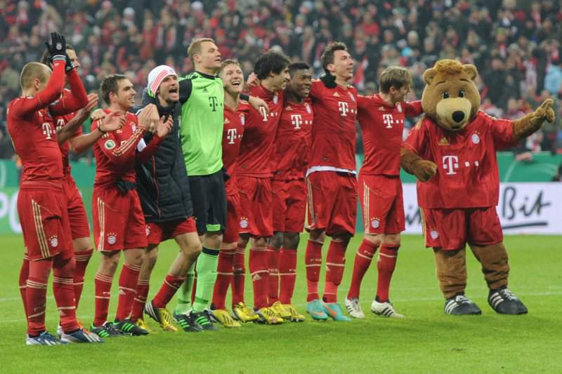 Bayern 'de goleada' está na final