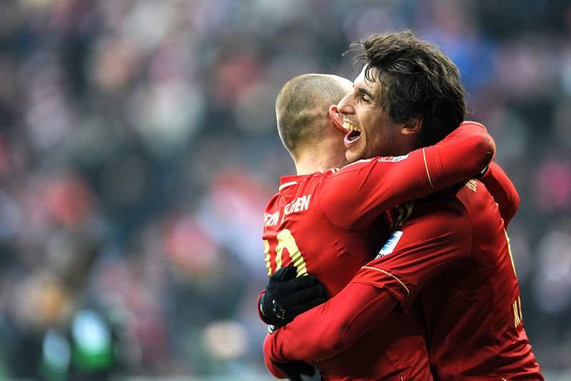 """Continua o """"passeio"""" do Bayern Munique na Bundesliga"""