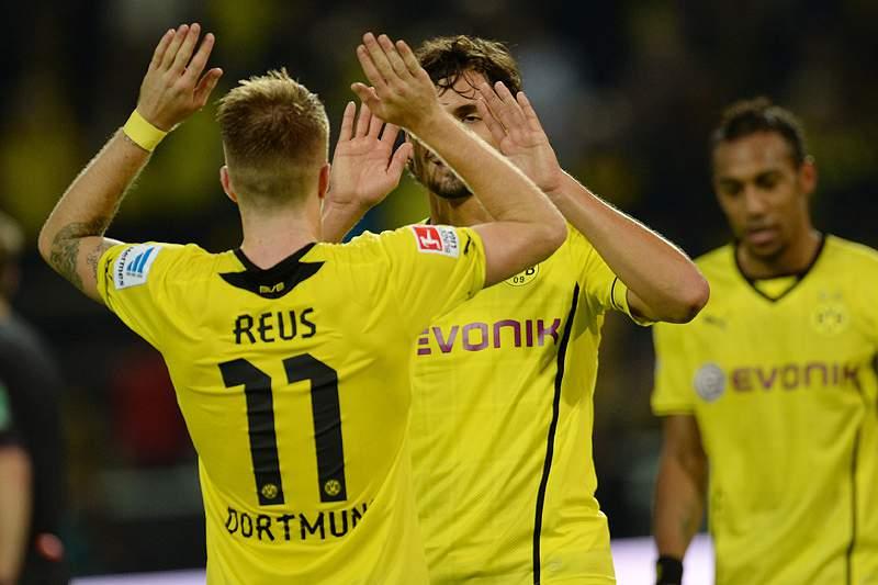 Borussia Dortmund com meia dúzia de golos frente a Hamburgo