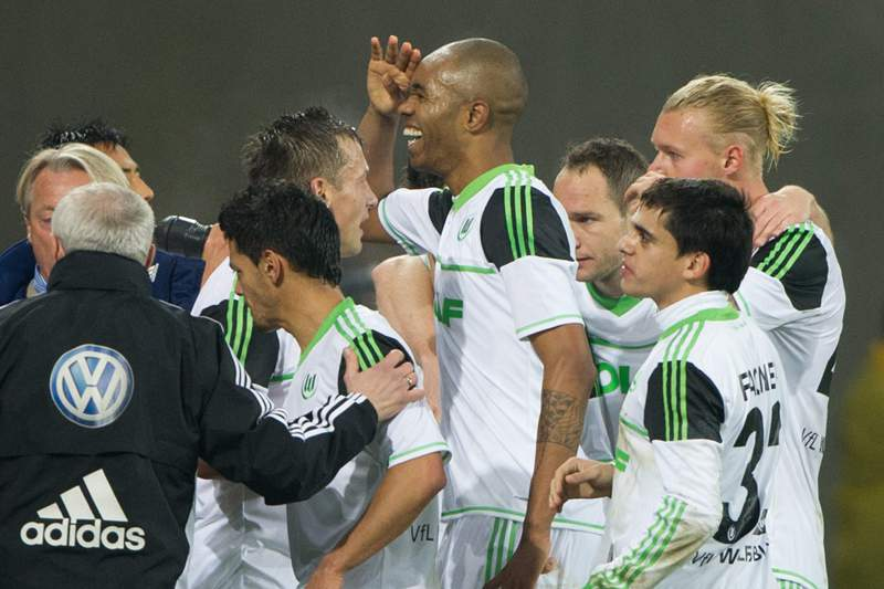 Wolfsburg bate Hoffenheim