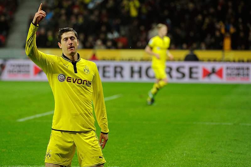 Borussia de Dortmund vence em Leverkusen