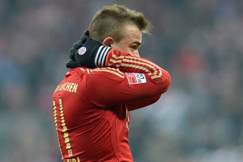 Shaqiri desfalca Bayern por sete semanas