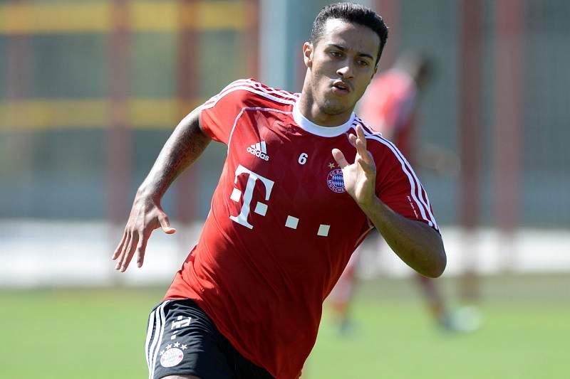 Thiago Alcântara já ajuda Bayern a vencer