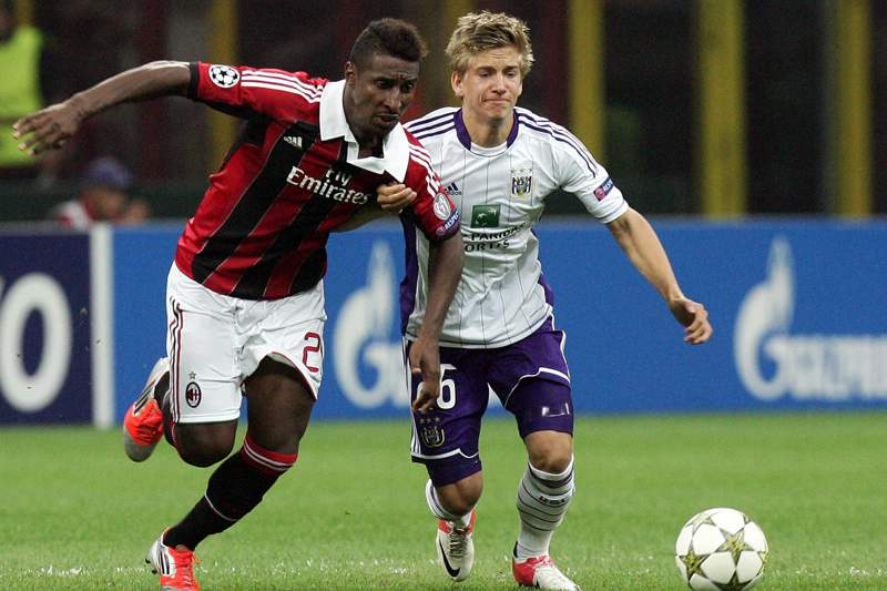AC Milan e Anderlecht anulam-se