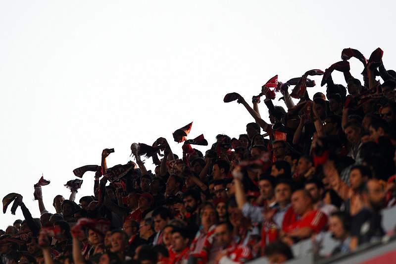 Incidentes com adeptos do Benfica