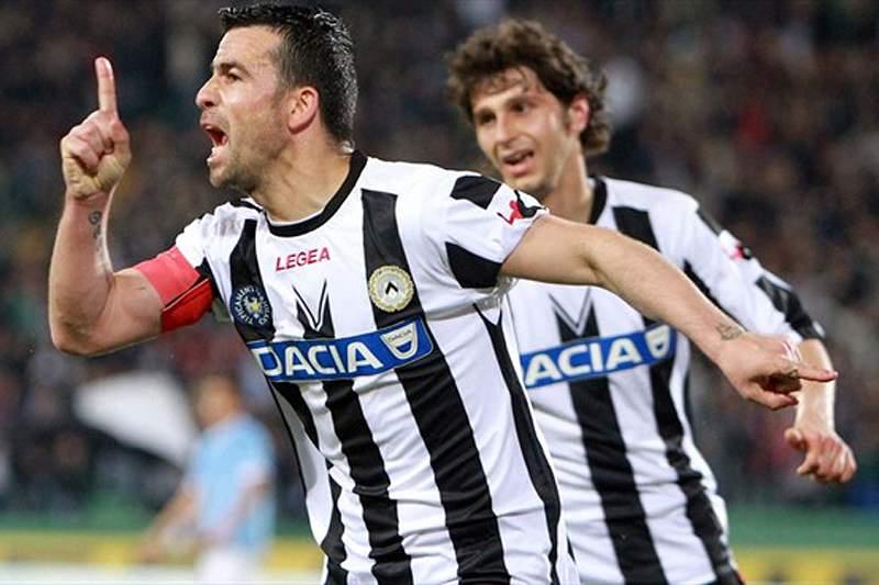 Udinese e Sampdoria empatam a 3-3