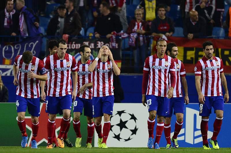 Atlético Madrid garante apuramento e 1.º lugar do Grupo