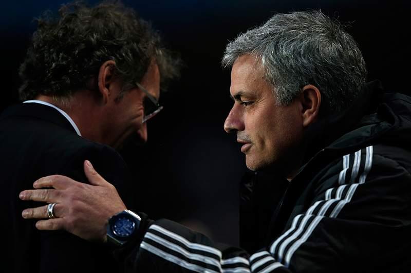 Mourinho explica porque correu tanto no 2.º golo do Chelsea