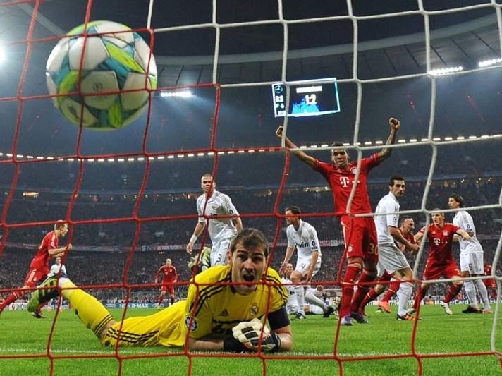 Alemães vão a Madrid em vantagem