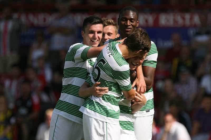 Baldé marca na goleada do Celtic Glasgow em Kilmarnock