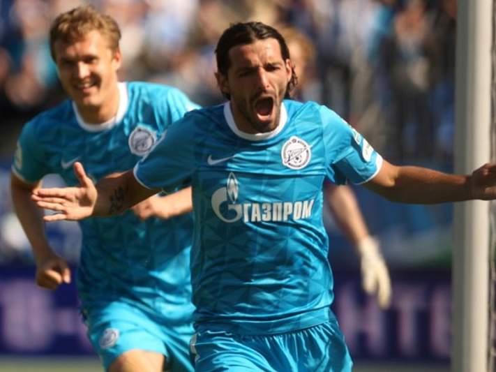 Danny marca no empate do Zenit em casa do Spartak