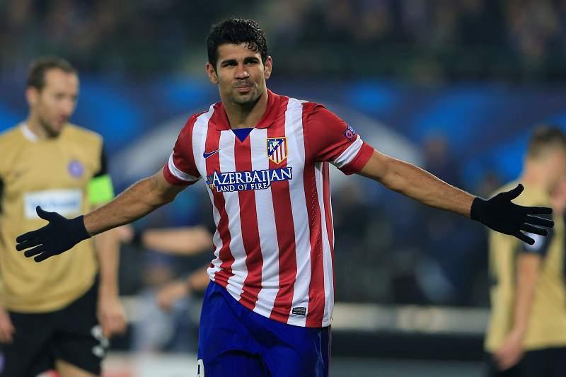 Diego Costa chamado por Scolari