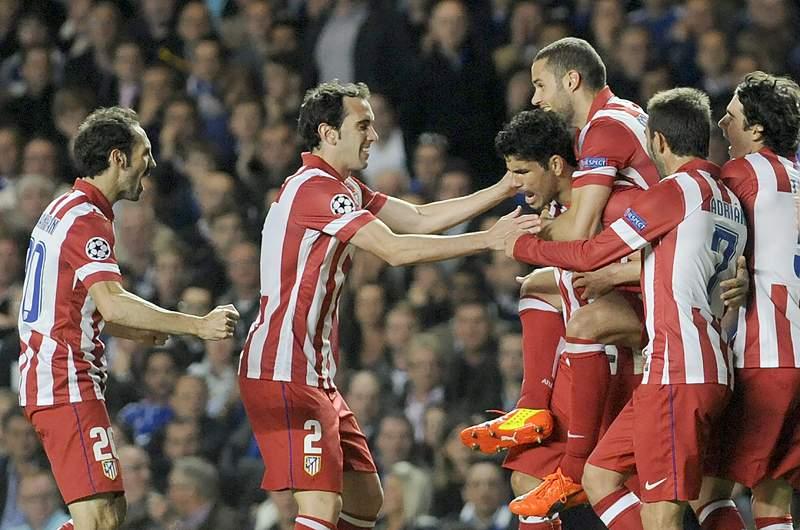 UEFA faz controlos a jogadores do At. Madrid