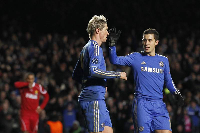 Chelsea relegado para a Liga Europa