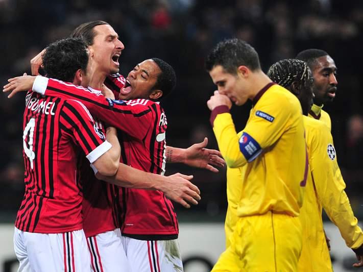AC Milan esmaga Arsenal em S. Siro