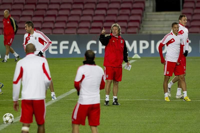 Benfica pode apurar-se mesmo sem vencer