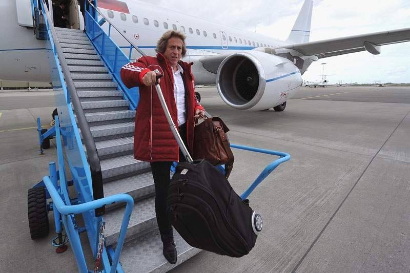 Benfica já chegou a Atenas