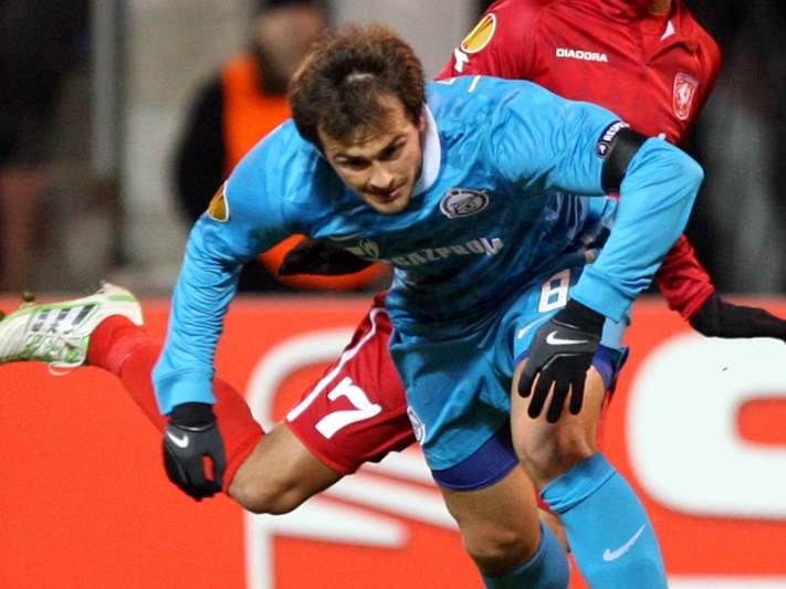 Zenit está preparado para o Benfica