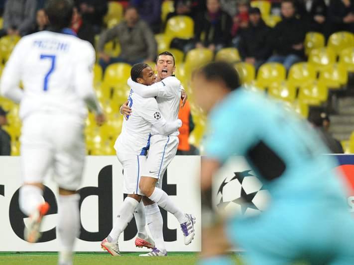 Inter com vitória 'à tangente'