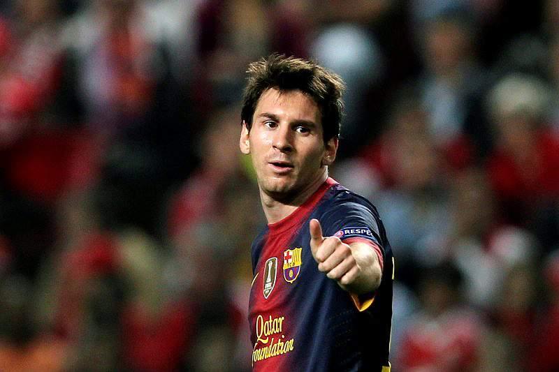 «Messi é o melhor futebolista do Mundo»