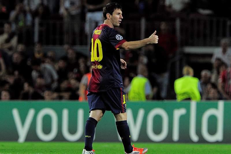 Messi soma quarto