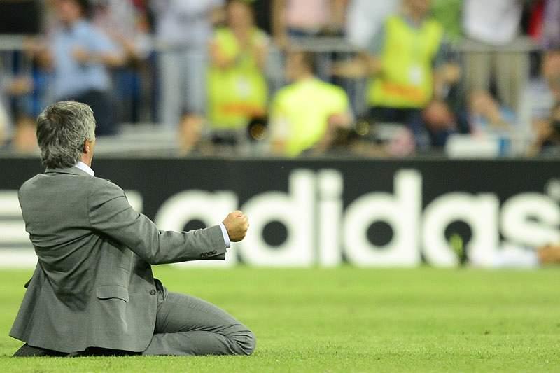 Golo de Ronaldo leva Mourinho ao delírio.