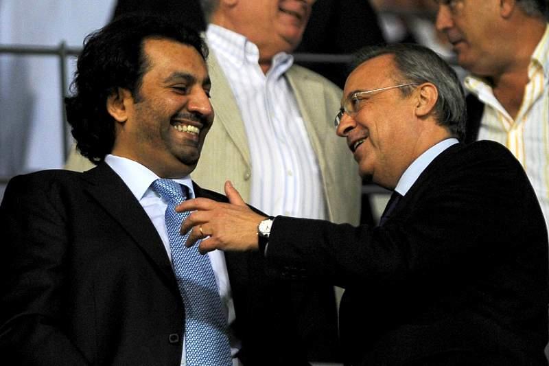Al-Thani elogiou os jogadores pelo jogo feito em Dortmund
