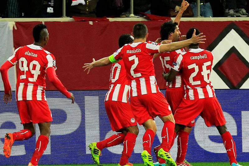 Olympiakos deixa United em maus lençóis