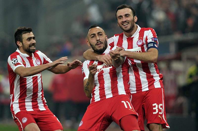 Olympiakos, de Jardim, vence Arsenal