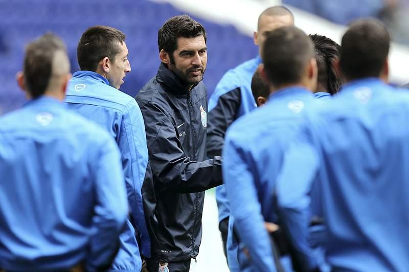 FC Porto treina em conjunto com equipa B