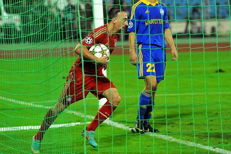 Ribéry eleito o Melhor Jogador da Europa