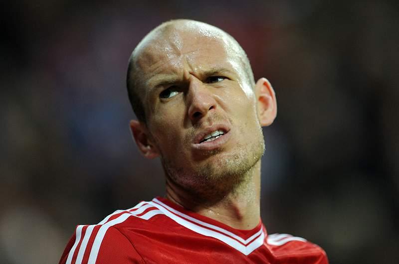 Robben rejeita ir para o Manchester United
