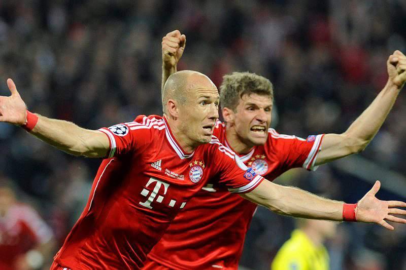 Bis de Robben dá vitória ao Bayern