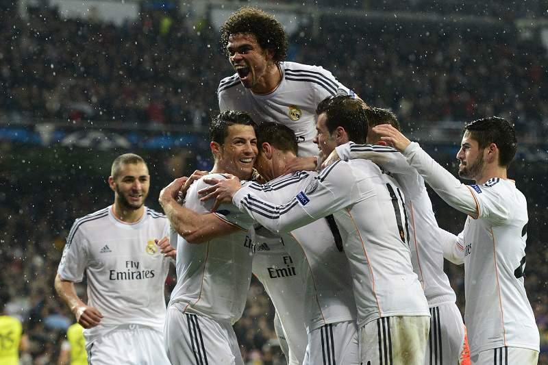 Real Madrid ganha fôlego diante do Borussia