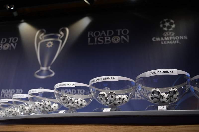 Bayern Munique defronta Arsenal, City defronta Barcelona