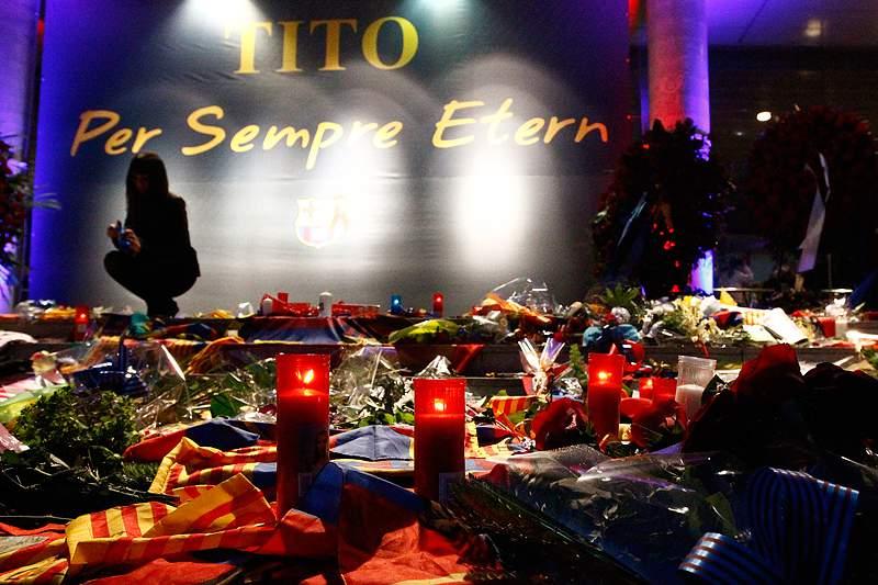 Barcelona homenageia Tito Vilanova antes do jogo de sábado