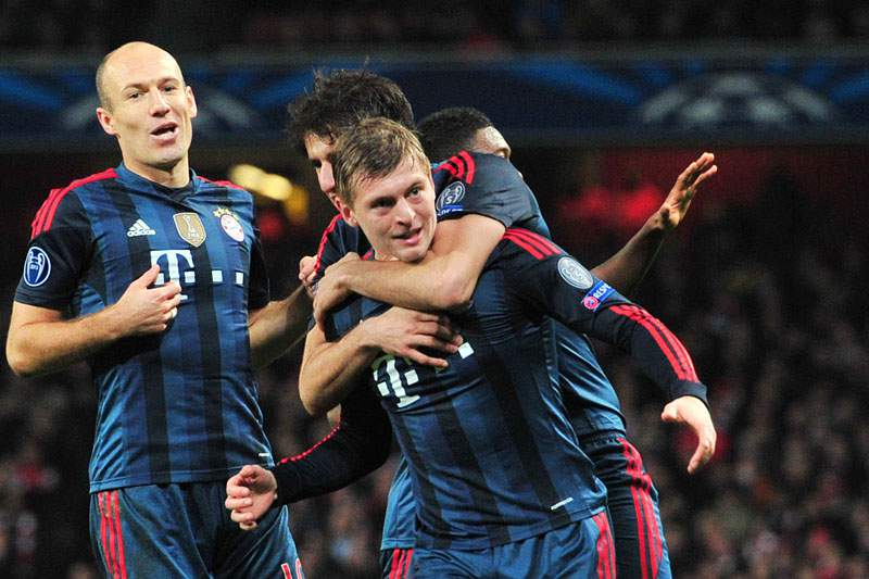 Barcelona, Atlético, Bayern e PSG defendem vantagem